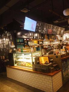 商场内纯一层中心位置品牌咖啡厅转让