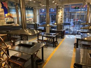昌平100㎡烤肉烧烤店转让可做各种餐饮