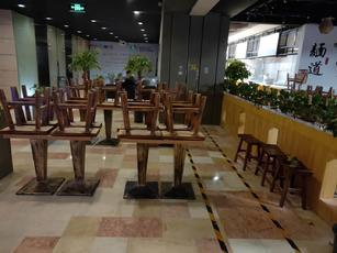 朝阳东大桥建国门外大街92㎡小吃快餐店转让,公司照可过户,可明火,可餐饮